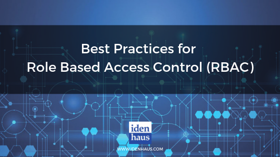 best practices for role based access control