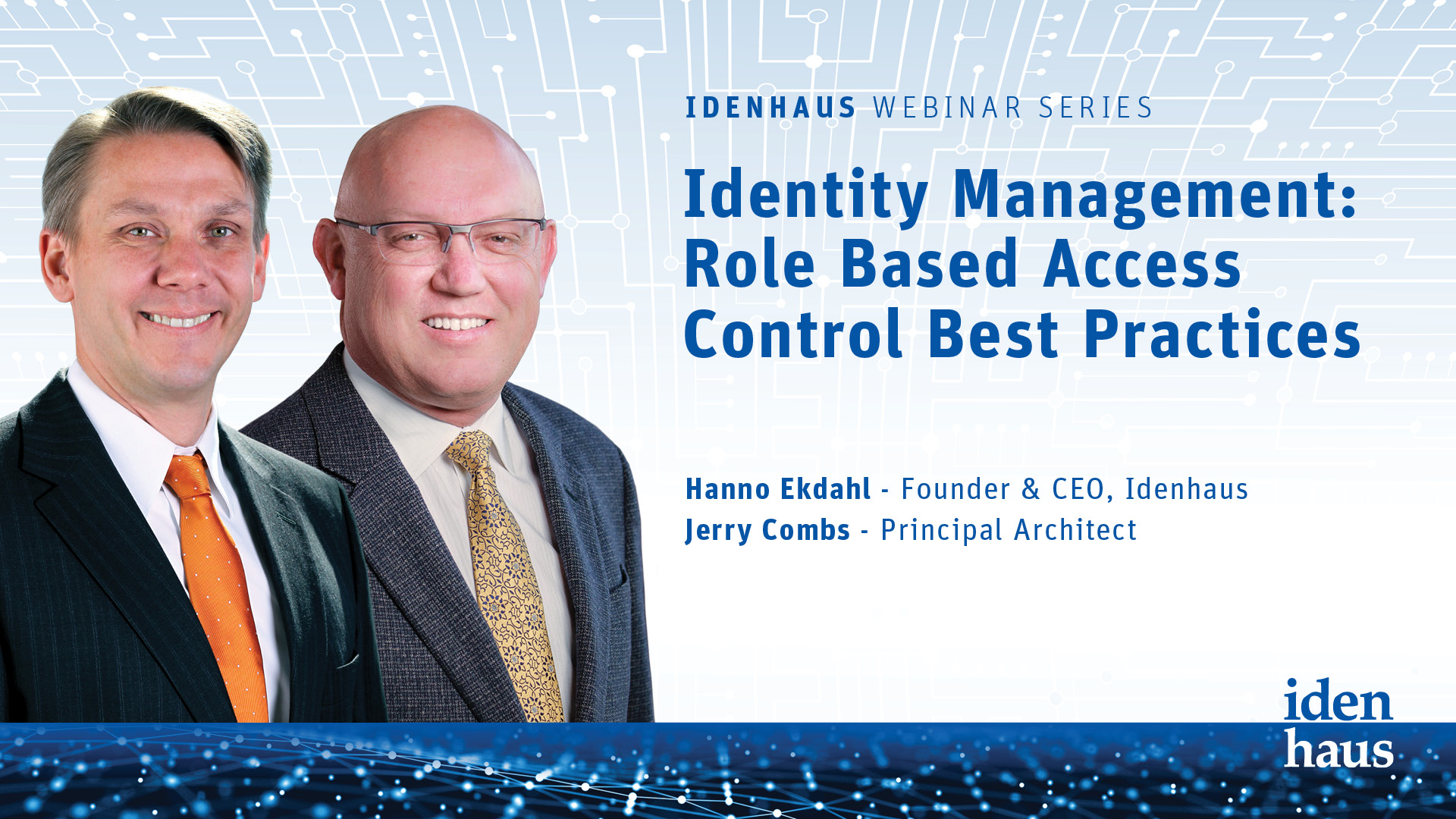Identity Management-Role Based Access Control Best Practices