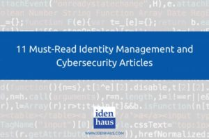 identity management and cybersecurity articles